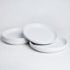 Тарілка 165 біла PS (100шт/пак)