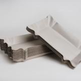 Тарелка бумажная 120мм*200мм (100шт/пак)