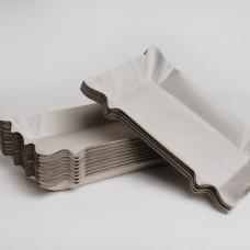 Тарілка паперова 120 мм*200мм (100шт/пак)