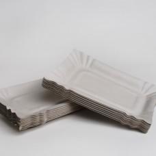 Тарілка паперова 140мм*200мм (100шт/пак)