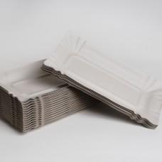 Тарілка паперова 140мм*250мм (100шт/пак)