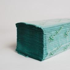 """Паперовий рушник """"Кохавинка"""" зелений (20пак/ящ)"""