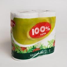 Туалетная бумага РУТА (4рул/пак)