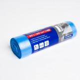 Пакети для сміття PRO 60л сині (20шт/рул)