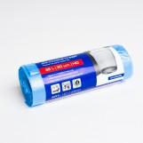 Пакеты для мусора  PRO 35л синие (30шт/рул)