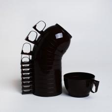 Чашка для кави PS (34шт/пак)