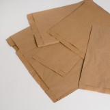 Пакет саше 140мм*60мм*340мм (1000шт/ящ) коричневый