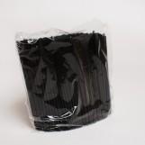 Трубочки МОХИТО чорні (500шт/пак)