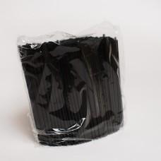Трубочки МОХИТО черные (500шт/пак)