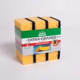 Губки кухонні DOMI надвеликі (3шт/пак)
