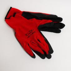 Рукавиці робочі WL-1001 червоні зі спіненим латексним покриттям (600пар/міш)