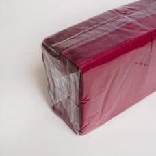 Серветка 2-х шарова бордова АЛСУ (200шт/пак)