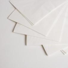 Серветка 3-х шарова біла МАРГО (20шт/пак)