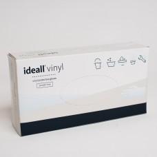 Перчатки виниловые(L) IDEALL VINYL (50пар/пак)