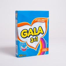 Стиральный порошок GALA Яркие цвета 400гр (20шт/пак)