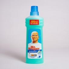 Средство для мытья полов Mr. Proper Горный ручей 750мл (14шт/ящ)