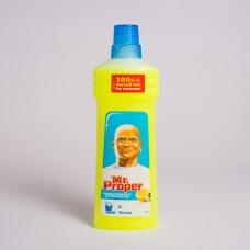 Засіб для миття підлоги Mr. Proper Лимон 750мл (14шт/ящ)
