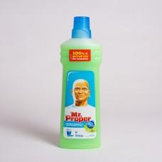 Засіб для миття підлоги Mr. Proper Бадьорий лайм та м'ята 750мл (14шт/ящ)