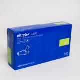 Рукавиці нітрилові (S) NYTRILEX BASIC (50пар/пак)