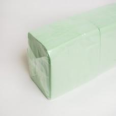 Салфетка 2 слоя салатовая АЛСУ (200шт/пак)