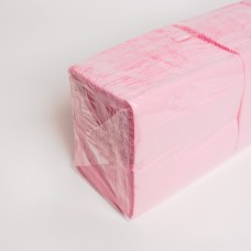 Салфетка 2 слоя розовая АЛСУ (200шт/пак)