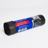 Пакети для сміття PRO  35л з затяжками чорні (15шт/рул)