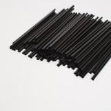 Трубочки МАРТІНІ чорні (200шт/пак)