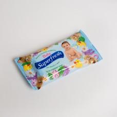 Серветка волога Superfresh дитяча (15шт/пак)